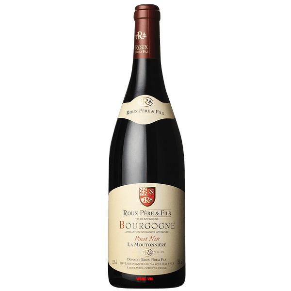 Rượu Vang Roux Pere & Fils La Moutonniere Pinot Noir