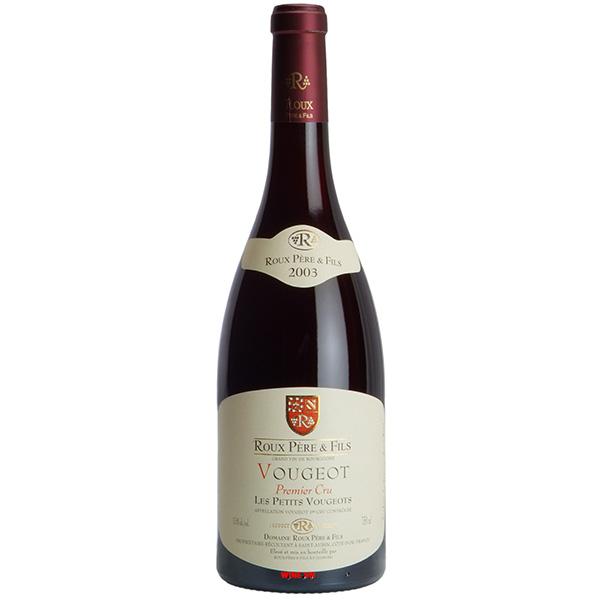 Rượu Vang Roux Pere & Fils Vougeot Les Petits Vougeots