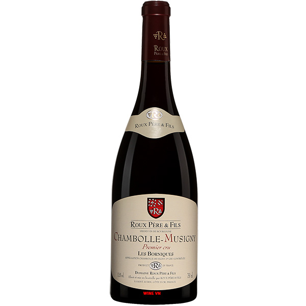Rượu Vang Roux Pere & Fils Chambolle Musigny Les Borniques