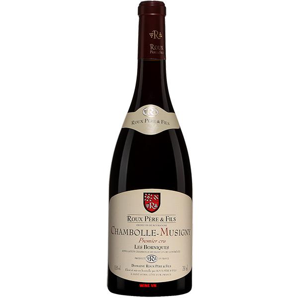 Rượu Vang Roux Pere & Fils Chambolle Musigny Les Borniques