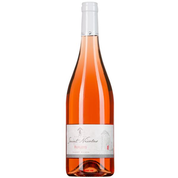 Rượu Vang Saint Nicolas Reflets Rose