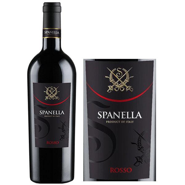 Rượu Vang Spanella Rosso