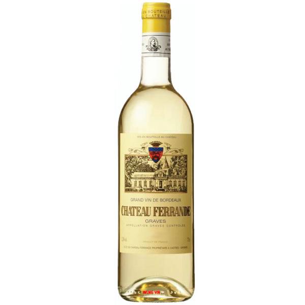 Rượu Vang Trắng Chateau Ferrande