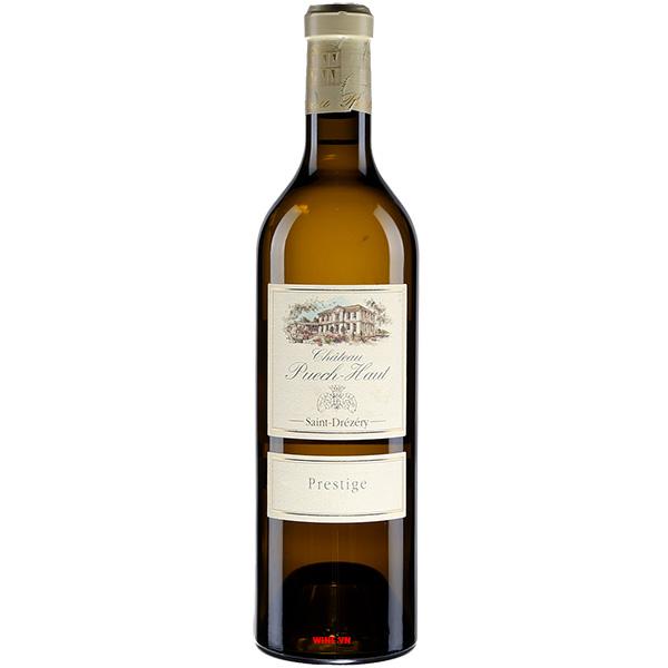 Rượu Vang Trắng Chateau Puech Haut Saint Drezery Prestige