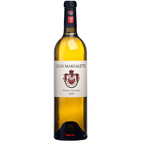 Rượu Vang Trắng Clos Marsalette