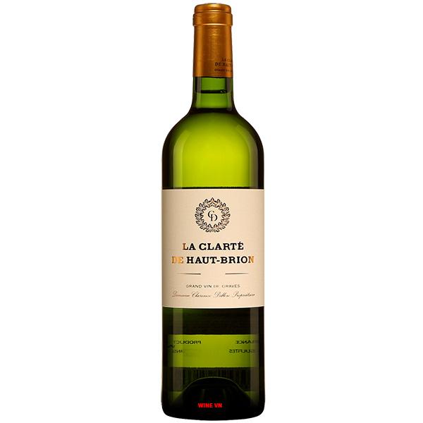 Rượu Vang Trắng La Clarte De Haut Brion