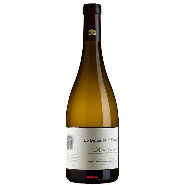 Rượu Vang Trắng Le Domaine D'Henri Troesme