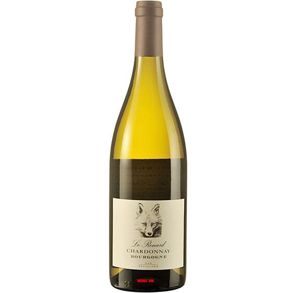 Rượu Vang Trắng Le Renard Chardonnay Bourgogne
