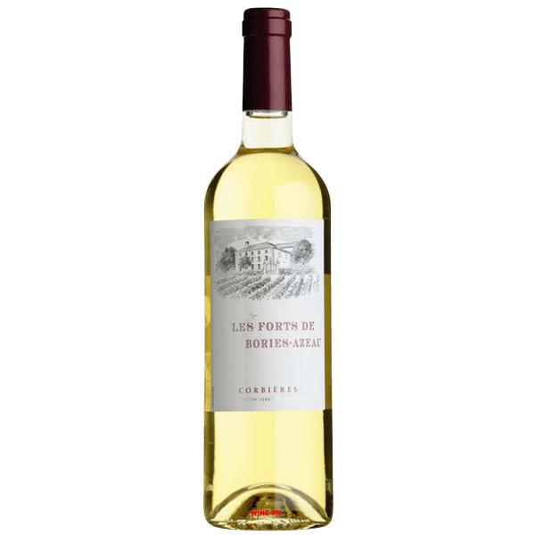 Rượu Vang Trắng Les Forts De Bories Azeau Corbieres