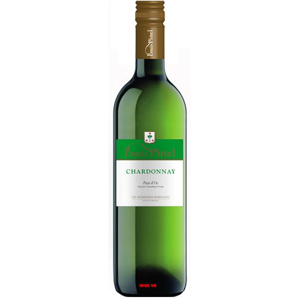 Rượu Vang Trắng Louis Pinel Chardonnay