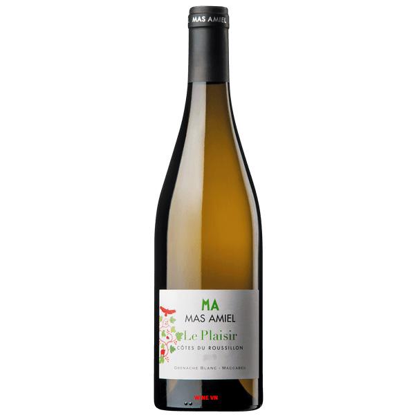 Rượu Vang Trắng Mas Amiel Le Plaisir
