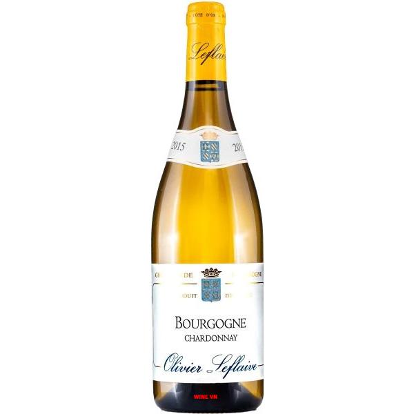 Rượu Vang Trắng Olivier Leflaive Bourgogne Chardonnay
