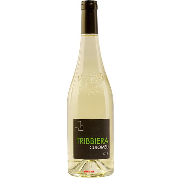 Rượu Vang Tribbiera Culombu Blanc