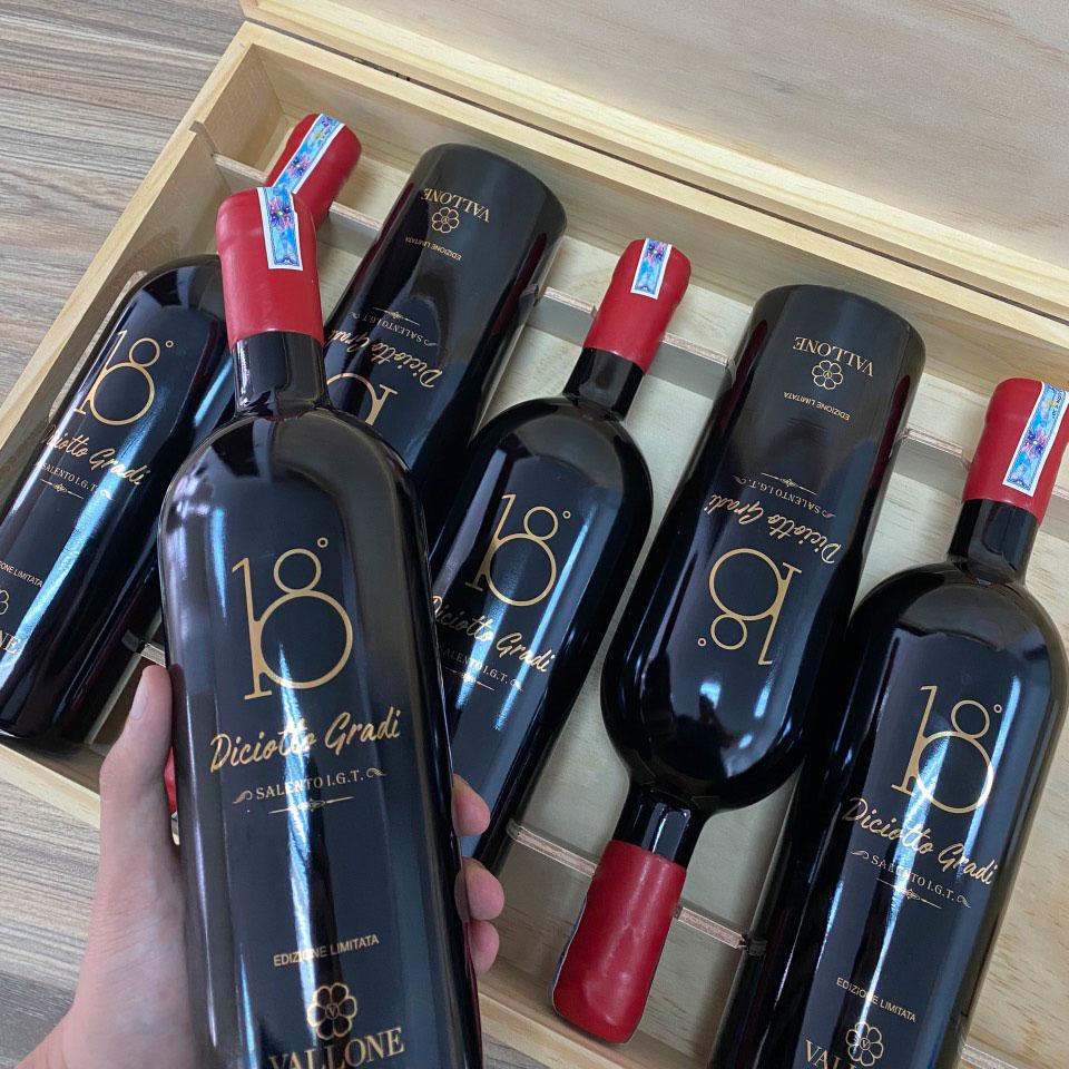 Rượu Vang Diciotto Gradi