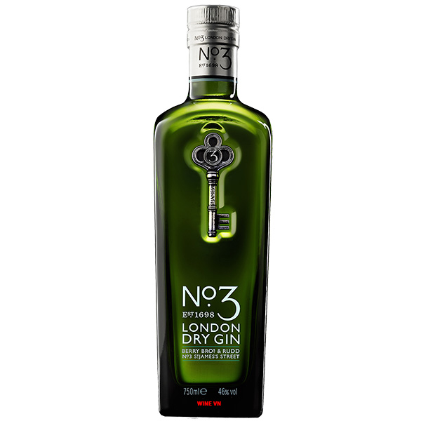 Rượu No.3 London Dry Gin