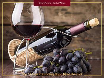 Top 10 Chai Rượu Vang Ngon Nhất Thế Giới