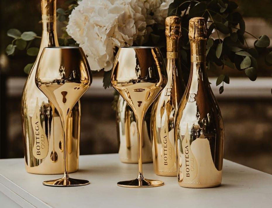 Rượu Champagne Bottega Gold