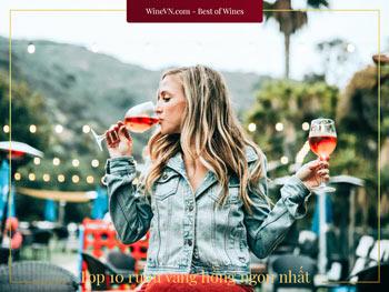 rượu vang hồng Rose Wine ngon nhất thumbnail