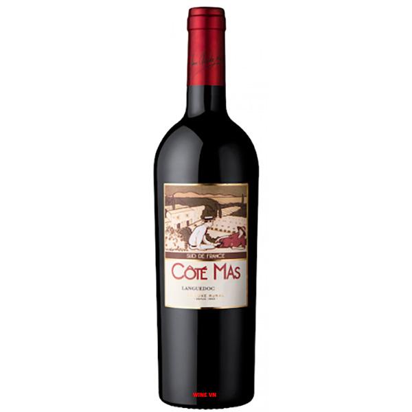 Rượu Vang Đỏ Cote Mas Languedoc