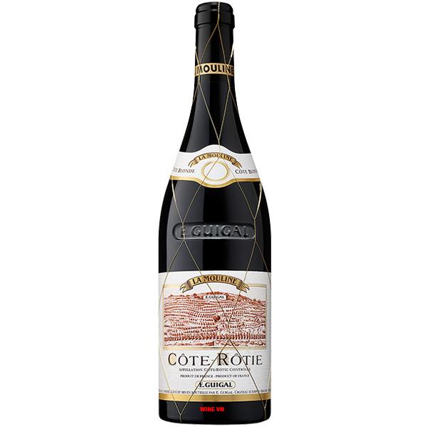 Rượu Vang Đỏ E.Guigal La Mouline Cote Rotie