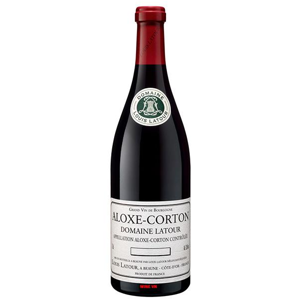 Rượu Vang Aloxe Corton Domaine Latour