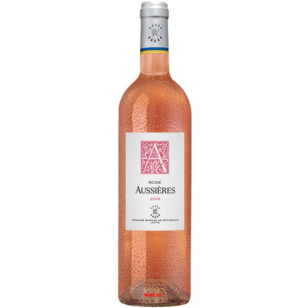 Rượu Vang Aussieres Rose