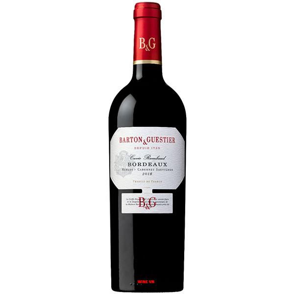 Rượu Vang B & G Bordeaux Merlot - Cabernet Sauvignon
