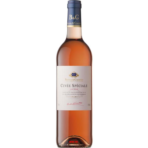 Rượu Vang B&G Cuvee Speciale Rose