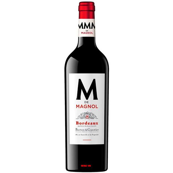Rượu Vang Barton & Guestier M De Magnol Bordeaux