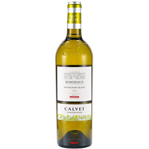 Rượu Vang Calvet Conversation Bordeaux Sauvignon Blanc