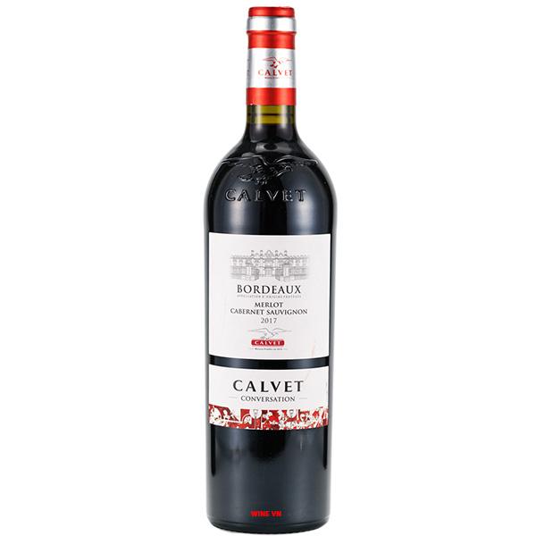 Rượu Vang Calvet Conversation Merlot - Cabernet Sauvignon