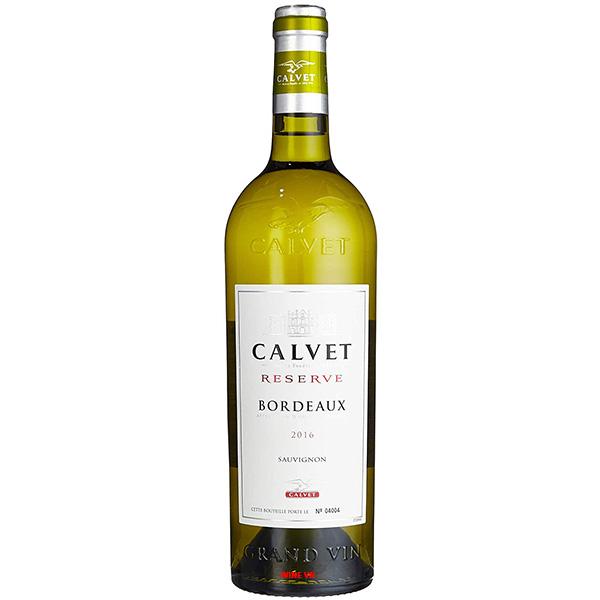 Rượu Vang Calvet Reserve Bordeaux Sauvignon Blanc