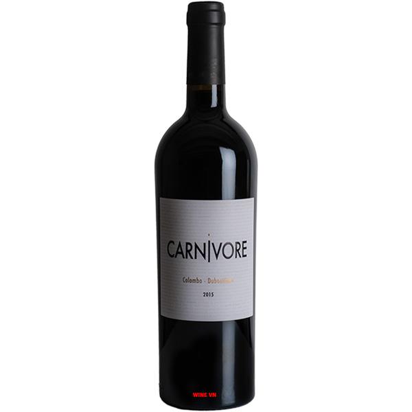 Rượu Vang Carnivore Colombo Dubourdieu