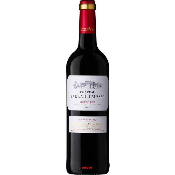 Rượu Vang Chateau Barrail Laussac Bordeaux