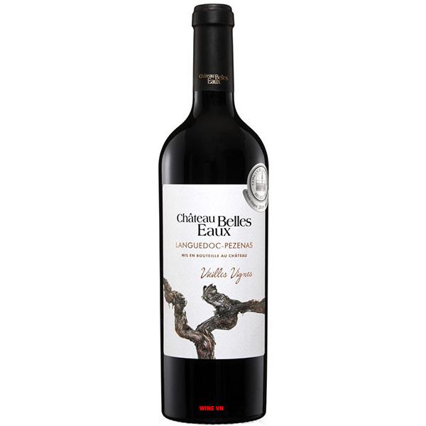 Rượu Vang Chateau Belles Eaux Languedoc Pezenas