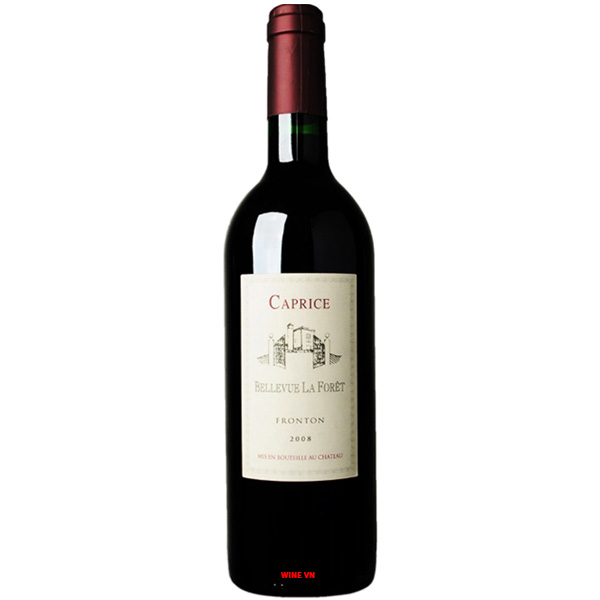 Rượu Vang Chateau Bellevue La Foret Caprice