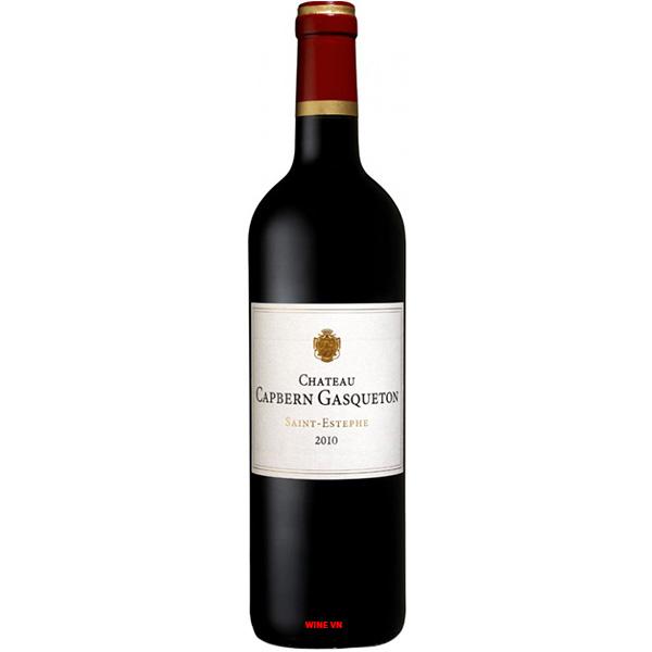 Rượu Vang Chateau Capbern Gasqueton