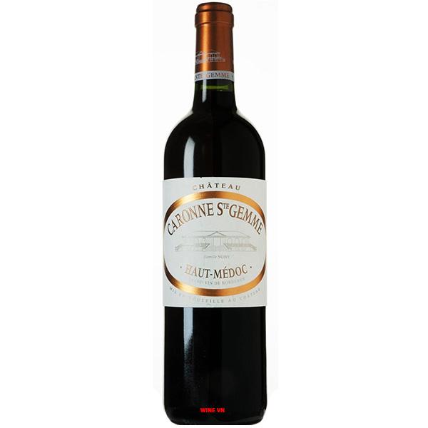 Rượu Vang Chateau Caronne Ste Gemme
