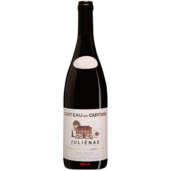 Rượu Vang Chateau Des Capitans Julienas