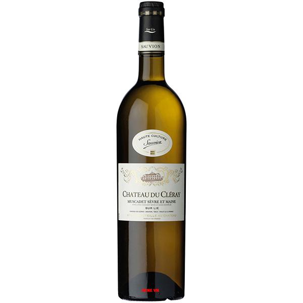 Rượu Vang Chateau Du Cleray Muscadet Sevres Et Maine Sur Lie