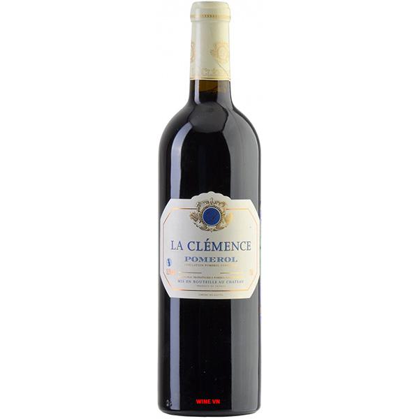 Rượu Vang Chateau La Clemence Pomerol
