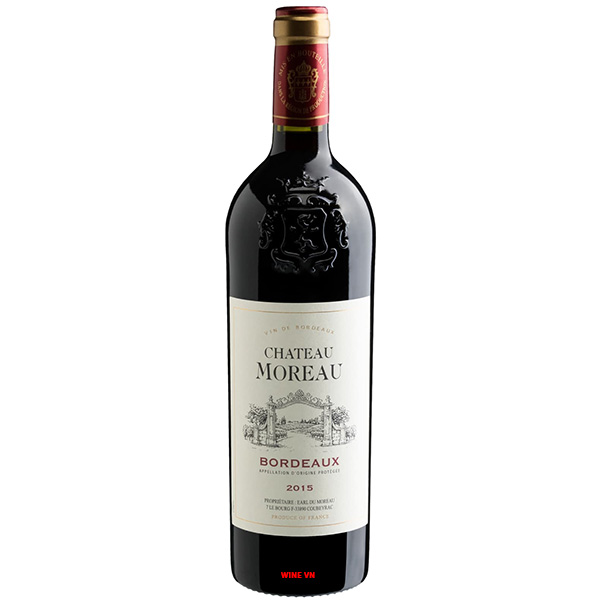 Rượu Vang Chateau Moreau Bordeaux