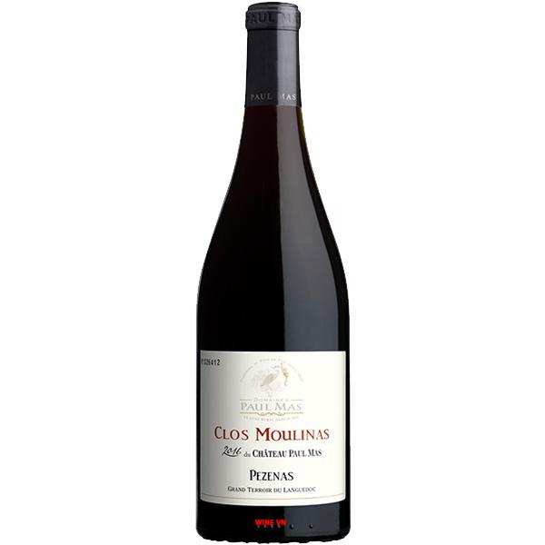 Rượu Vang Chateau Paul Mas Clos Du Moulinas Pezenas