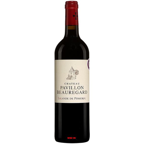 Rượu Vang Chateau Pavillon Beauregard Lalande De Pomerol