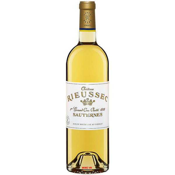 Rượu Vang Chateau Rieussec Sauternes