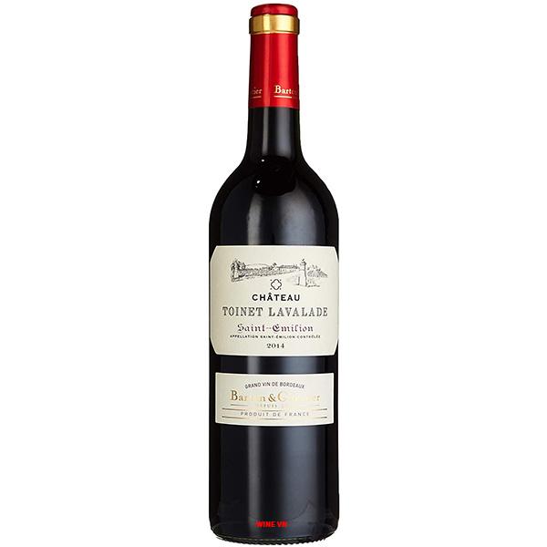 Rượu Vang Chateau Toinet Lavalade Saint Emilion
