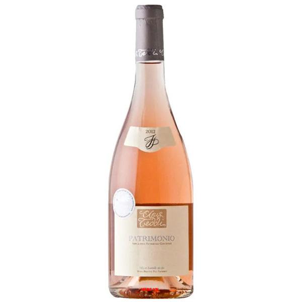 Rượu Vang Clos Teddi Tradition Patrimonio Rose