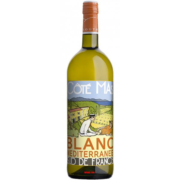 Rượu Vang Cote Mas Blanc Mediterranee