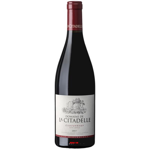 Rượu Vang Domaine De La Citadelle Gouverneur