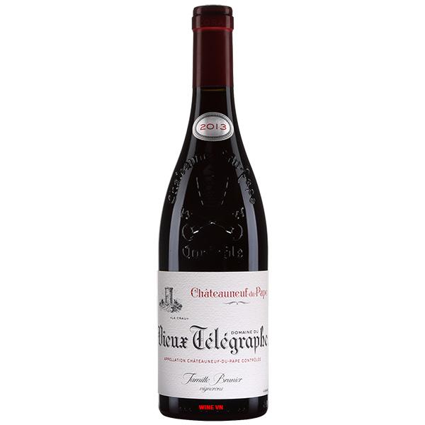 Rượu Vang Domaine Du Vieux Telegraphe La Crau Châteauneuf Du Pape